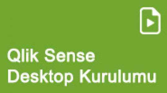 Qlik Sense Desktop Kurulumu